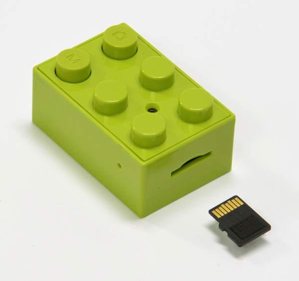 Legokloss med kamera