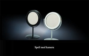 Speil med skjult kamera