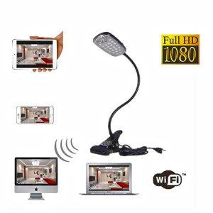Bordlampe med HD WIFI kamera