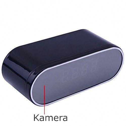 Vekkerklokke med HD WIFI kamera