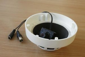 Skjult kamera røykvarsler