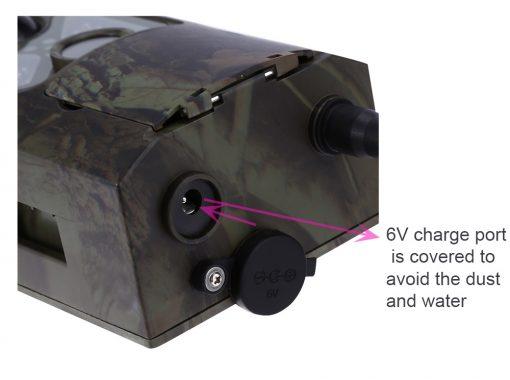 Viltkamera med 2G og 3G og solcelle panel