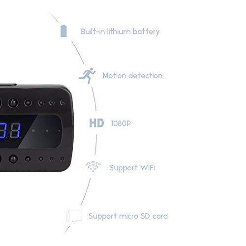 Vekkerklokke med full HD 1080P og WiFi
