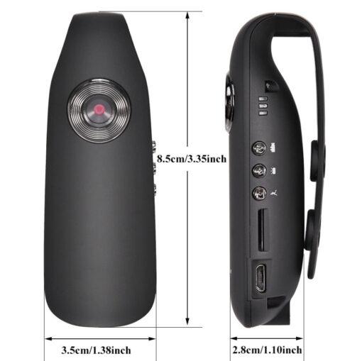 Mini 1080P kropskamera / bodycamera