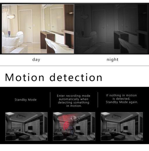 Mini IR-cut kamera – 1080 Full HD, IR nattfilming og bevegelse deteksjon.