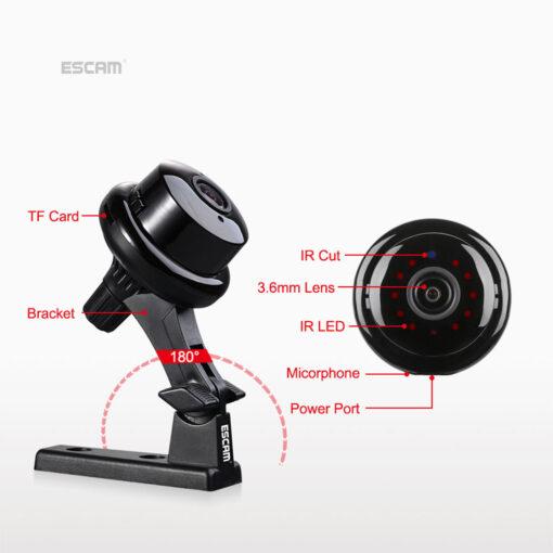 Q6 2MP WiFi IR kamera